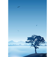 Lone tree vector | Price: 1 Credit (USD $1)