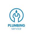 Plumber logo Handyman logo vector image