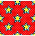 Pop Art Star vector image