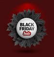3d black friday sale tag design black realistic