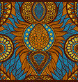 african print vector image