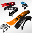 discount price tag vector image