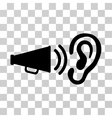 Listen Sound Icon vector image