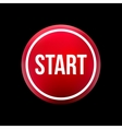 red button start vector image