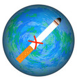 world no tobacco day the cigarette is crossed out vector image