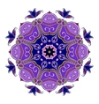 Abstract Hand-drawn Mandala 4 vector image vector image