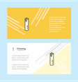 candle abstract corporate business banner vector image vector image