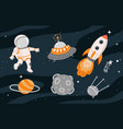 cosmos collection concept vector image