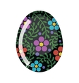 Glass Easter egg vector image vector image