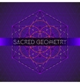 metatron outline seed of life sacred geometry vector image vector image