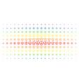 nem currency spectral halftone matrix vector image vector image