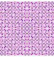 purple seamless kaleidoscope pattern background vector image vector image