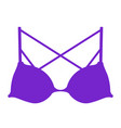 romantic bra image vector image vector image