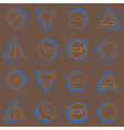 seamless background with traffic signs vector image vector image