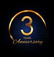 template logo 3 year anniversary