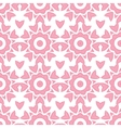 Abstract pink repeat geometrical seamless pattern vector image