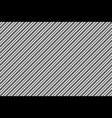 black white diagonal texture seamless pattern vector image