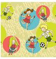 boys girls vector image vector image