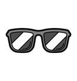 cartoon sunglasses vector image vector image