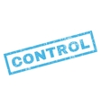 Control Rubber Stamp vector image vector image