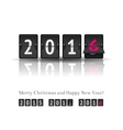 New year countdown vector image vector image