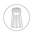 pepper shaker icon design vector image