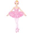 Pink Ballerina vector image