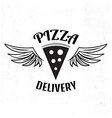 Pizza delivery logo Fast delivery logo Pizza logo