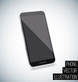 Realistic smart phone eps 10 vector image vector image