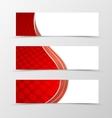 set banner circle grid design vector image vector image