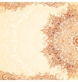 Vintage hand-drawn background vector image vector image