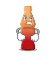 angry cola bottle jelly candy mascot cartoon vector image vector image