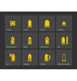 Condom and Safe sex icons vector image