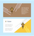 ice cream abstract corporate business banner vector image vector image