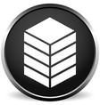 icon with tower rack storage container datacenter vector image vector image