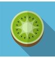 Kiwi flat icon vector image vector image
