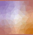 quad color polygonal background in purple gold vector image