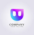 abstract logo templates for your business and vector image