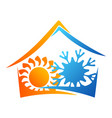 air conditioning concept vector image vector image