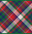 celtic check pixel plaid seamless pattern vector image vector image