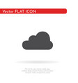 cloud icon for web business finance and vector image