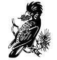 cockatoo bird vector image vector image