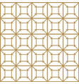 japanese gold background and pattern exquisit vector image vector image