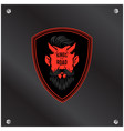 king of the road red devil background image vector image vector image
