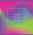 modern soft color gradient vector image
