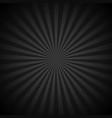 retro shiny starburst black background vector image vector image