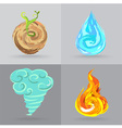 4elements vector image vector image