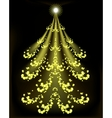Abstract Christmas tree EPS10 vector image vector image