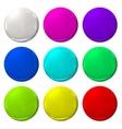 Ballon Color fun balloon web icon vector image