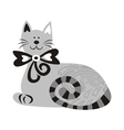 Beautiful cat vector image vector image
